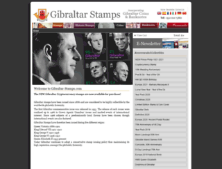 gibraltar-stamps.com screenshot