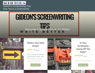gideonsway.wordpress.com screenshot