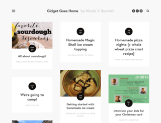 gidgetgoeshome.com screenshot