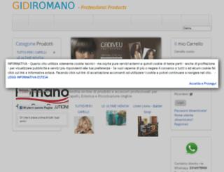 gidiromano.it screenshot