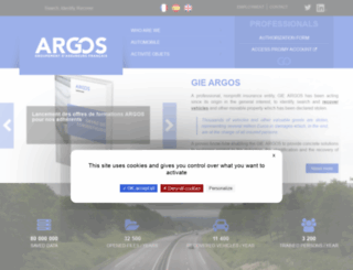 gieargos.org screenshot