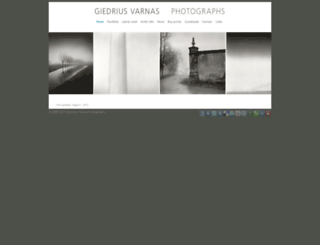 giedriusvarnas.com screenshot