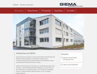 giema.com screenshot