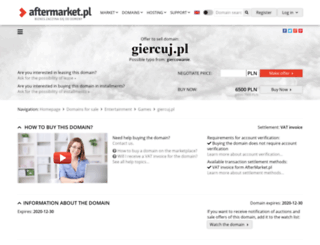 giercuj.pl screenshot
