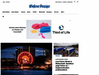 giessener-anzeiger.de screenshot
