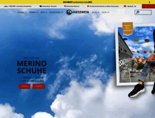 Access . Giesswein Online Shop Offizielle