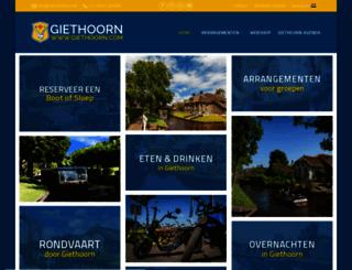 giethoorn.com screenshot
