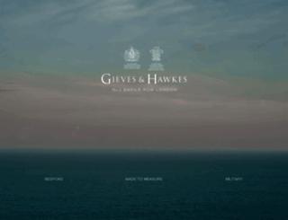 gievesandhawkes.com screenshot