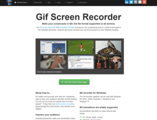 gifrecorder.com screenshot