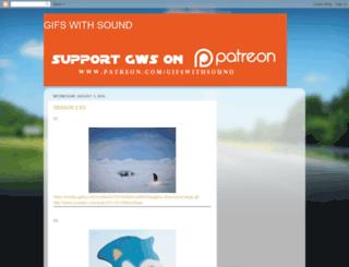 gifswithsoundsonglist.blogspot.de screenshot