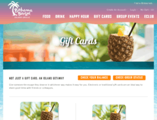 gift.bahamabreeze.com screenshot