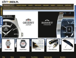gift4men.pl screenshot