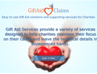 giftaidclaims.co.uk screenshot
