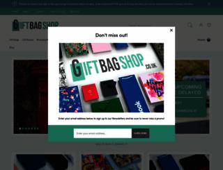 giftbagshop.co.uk screenshot