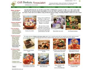 giftbasketsassociates.com screenshot