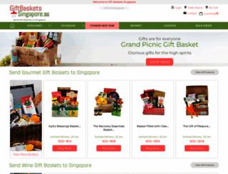giftbasketssingapore.sg screenshot