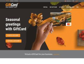 giftcard.bg screenshot