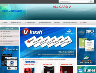 giftcard4u.us screenshot