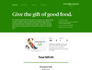 giftcards.central-market.com screenshot