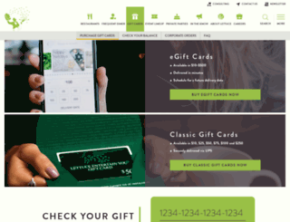giftcards.leye.com screenshot