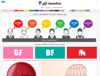 giftchameleon.com screenshot