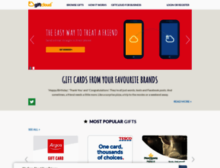 giftcloud.com screenshot