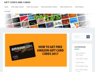 giftcodes.net screenshot