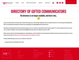 giftedcommunicators.com screenshot