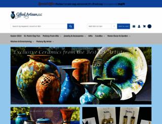 giftedpottery.com screenshot