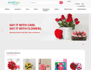 giftflora.com screenshot