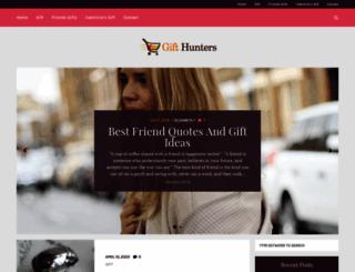 gifthunters.co.uk screenshot