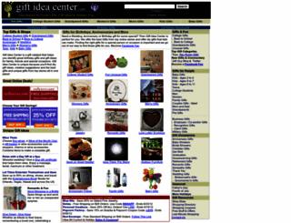 giftideacenter.com screenshot