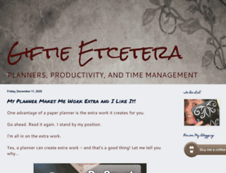 giftieetcetera.blogspot.com screenshot