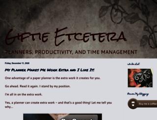giftieetcetera.com screenshot