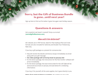 giftofbusiness.com screenshot