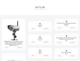 gifts.sr screenshot