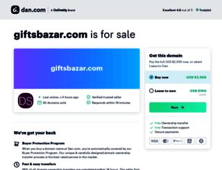 giftsbazar.com screenshot