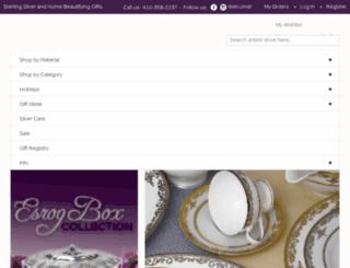 giftsbysilvergallery.com screenshot