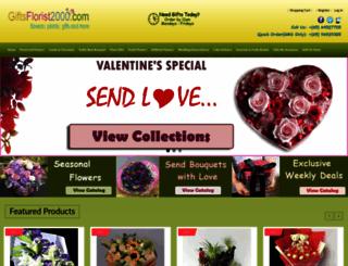 giftsflorist2000.com screenshot