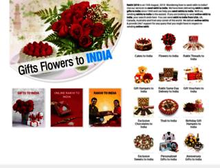 giftsflowerstoindia.com screenshot