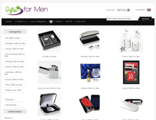 giftsformenuk.co.uk screenshot