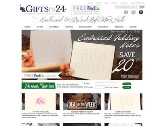 giftsin24.com screenshot