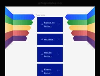 giftsinpakistan.com screenshot