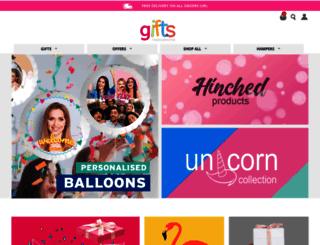 giftsmadepersonal.co.uk screenshot