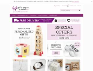 giftsmadespecial.co.uk screenshot