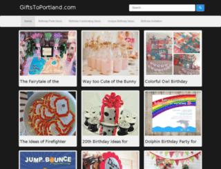 giftstoportland.com screenshot