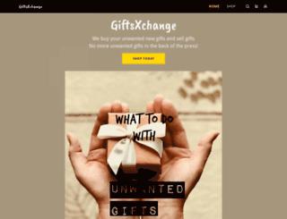 giftsxchange.com screenshot