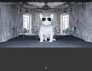 giftvault.com screenshot