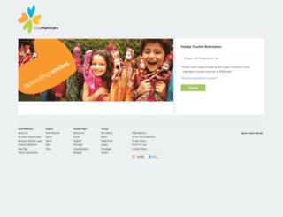 giftvoucher.clubmahindra.com screenshot