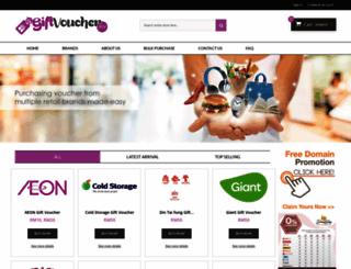 giftvoucher.my screenshot